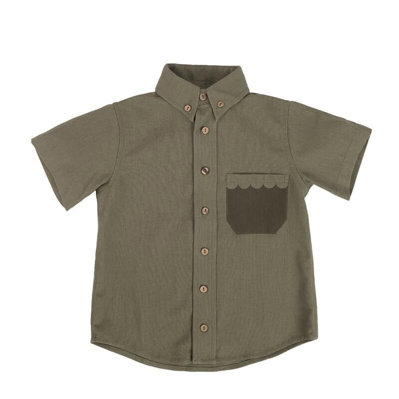 """Детска риза """"Море в джобче"""" отпред"""
