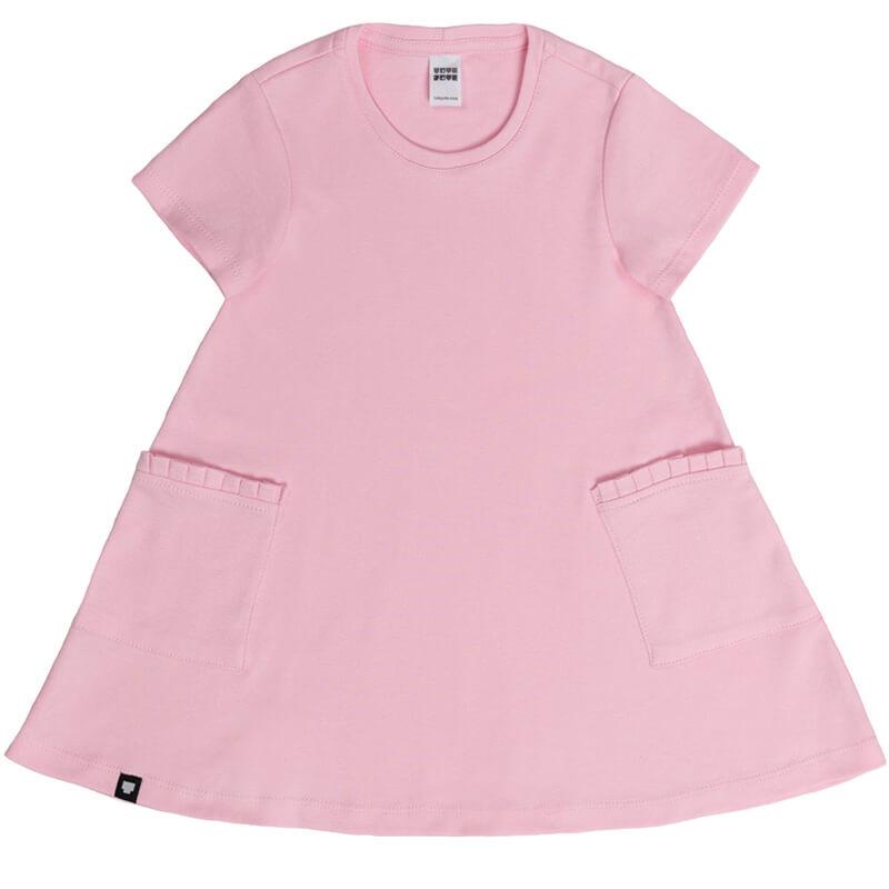 """Детска рокля """"Пинки"""" - Изглед отпред"""