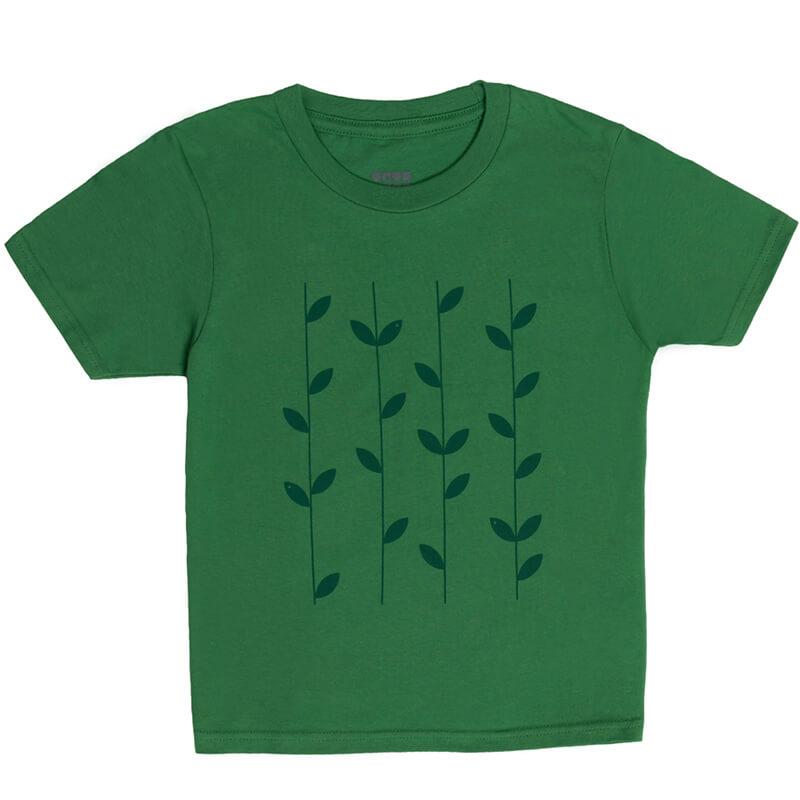 """Детска тениска """"Бамбуча"""" - Изглед отпред"""