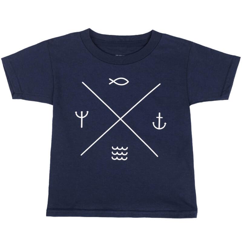 Детска тениска Лято. !00% памучна материя , къси ръкави, украса с летни мотиви.