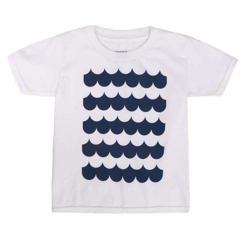 """Детска тениска """"Морски Приключения"""" - Изглед отпред"""