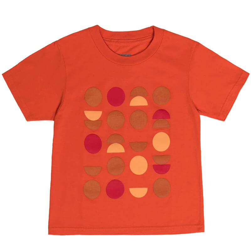 """Детска тениска """"Портокал"""" - Изглед отпред"""