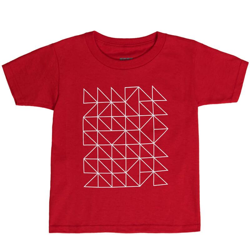 """Детска тениска """"Ред Хот"""" - Изглед отпред"""
