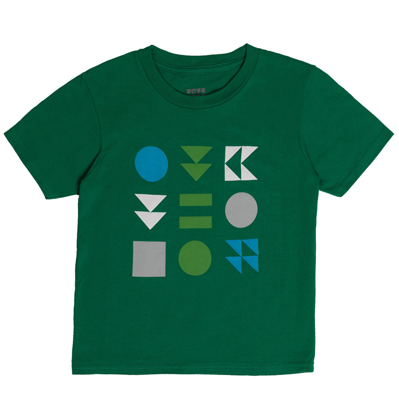 "Детска тениска ""Знаци"" - Изглед отпред"